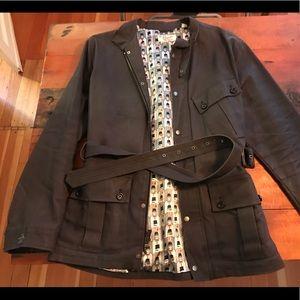 Penguin Munsingwear Trench Rain Coat - Size L